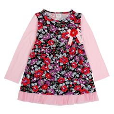 5 pçs/lote flor meninas vestido de manga longa outono vestido de festa menina moda novatx marca crianças roupas infantis roupas de algodão(China (Mainland))
