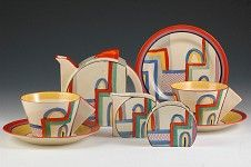 Clarice Cliff Pottery, Tennis teaset