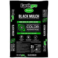 Scotts Earthgro, 2 cu. ft. Black Mulch, 88552180 at The Home Depot - Mobile