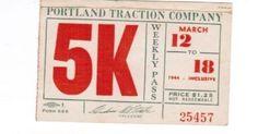 Portland (Oregon) Traction (1944)