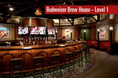 The two-story, + sq. Budweiser Brew House will provide the opportunity to showcase AB's storied history in St. Louis and the global reach of its brands. Cardinals Baseball, St Louis Cardinals, St Louis Baseball, Mlb Stadiums, Busch Stadium, Tap Room, Great Team, Family Activities, House