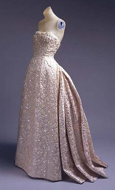 Dior ball gown, Fall/Winter 1953-54 via The Metropolitan Museum of Art