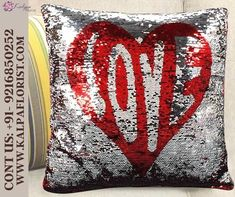 Lovely Heart Color Sequined Cushion ( Order A Gift Online ) Contact us @ 9216850252 #orderagiftonline #purchaseagiftcardonline #orderagift cardonline #buyagiftcardonlinewithcheckingaccount #buyagiftcardonlinewithpaypal #ordergiftbasketsonline #howtoorderagiftcardonline #canipurchaseagiftcardonline #canibuyagiftcardwithpaypal #howtoorderavisagiftcardonline #ordergiftcardonlinepickupinstore #orderwineasagiftonline #canada #unitedkingdom #unitestates #london Valentines Day Gifts Boyfriends, Boyfriend Gifts, Valentine Day Gifts, Diwali Gifts, Online Gifts, Wedding Gifts, Personalized Gifts, Cushions, Heart
