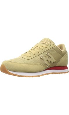 New Balance Men's Mz501 Modern Classics Fashion Sneakers, Dust/Crimson, 11.5 D US Best Price