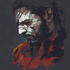Venom Snake, Ilya  Brovkin on ArtStation at https://www.artstation.com/artwork/Ov4K8
