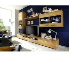 Salon Neptun en #boismassif Decoration, Flat Screen, Furniture, Home Decor, Solid Wood, Wood Furniture, Living Room, Decor, Blood Plasma