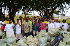 First Resorts and The Palace Resort and Spa teamed up with Ethekwini Municipality in a beach clean-up initiative in celebration of National Marine Week during the month of October. The Resorts Manager, Goodman, and his team did an excellent clean-up of Virginia beach. The team had a wonderful time and thoroughly enjoyed the afternoon! Beach Clean Up, Virginia Beach, Wonderful Time, Resorts, Palace, Celebration, Spa, October, Vacation Places