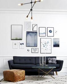 Vera bei @idestrup Zuhause.    #sofacompany_de #leather #scandinaviandesign #interiordesign #furnituredesign #interior #nordicinspiration #sofa
