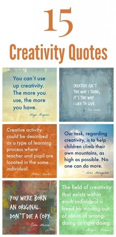 15 Creativity Quotes