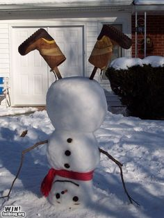 I am totally going to do this next time we have a decent snowfall!