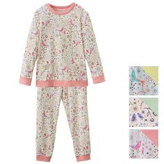 Bird and Floral print Pajama