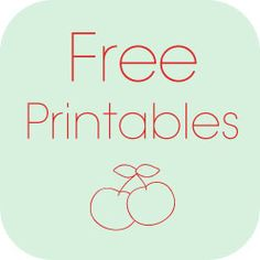 Free printables for home & office.