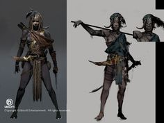 Assassin's Creed: Origins Kensa Concepts by Jeff Simpson on ArtStation.