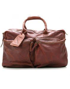 #bag #cuir #sac #leather #weekend #fashion #menswear #camel