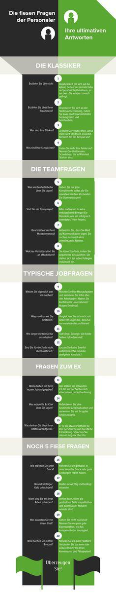 """http://lectur.io/personalerfragen """"Was würde Ihr Ex-Chef über Sie sagen?"""" 20 Antworten, mit denen Sie definitv Erfolg im Bewerbungsgespräch haben werden - Infografik!"""