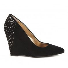 Great black wedges with a little sparkle