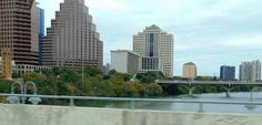 City of Austin in Texas Downtown on the Water