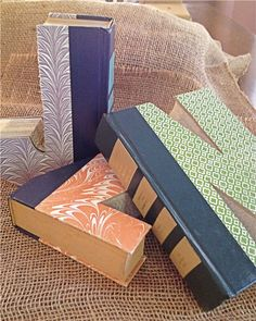 Made from Readers Digests.  Who knew? Cute idea. Book+Letter+Monogram+by+SimplyVintageGA+on+Etsy,+$14.00
