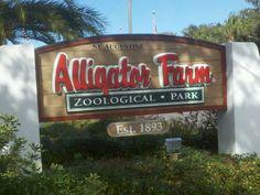 St. Augustine Alligator Farm in St. Augustine, FL