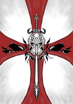 Cool crusader cross