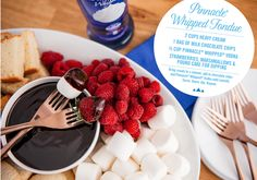 Have your vodka and eat it too. Try the #Pinnacle Whipped Fondue.   #PinnacleVodka #ChocolateFondue #Whipped #Vodka #Recipes #FoodPairings
