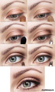 Идеи для новогоднего макияжа глаз 2012 / макияж снегурочки