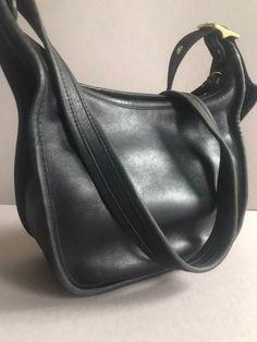 527027e98120 COACH Handbag Janice Black Leather Crossbody  9950 Made in China