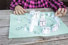 Printable Stonehenge activity for kids. Just print the stones on white paper, and print the bottom on green paper. Then have fun placing each stone in its home!