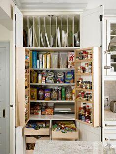 """My Superstar: An Organized Pantry"" - Kitchen Storage Solutions on HGTV"