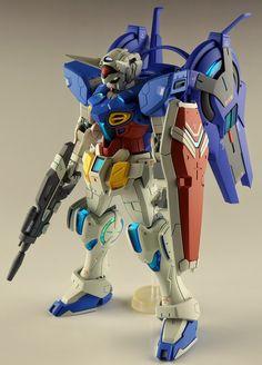 GUNDAM GUY: HG 1/144 Gundam G-Self + Space Equipment Option Part - Customized Build