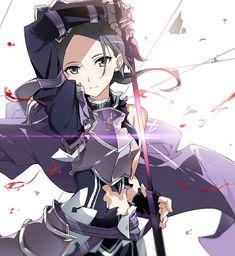 Kawaii Anime Girl, Anime Art Girl, Manga Girl, Anime Girls, Asuna Wallpaper, Sword Art Online Wallpaper, Sword Art Online Asuna, Kirito Sword, Anime Couples Manga