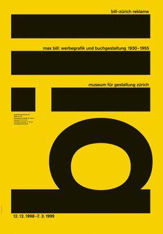 Original vintage poster SWISS EXPO MAX BILL GRAPHICS