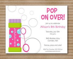 sweet treat play date or birthday party invitation printable