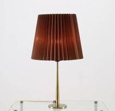 Table Lamp with Stunning Formed Base by Hans Agne Jakobsson 2