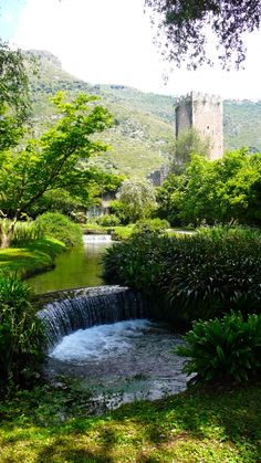 Ninfa Gardens, Italy  Slim Paley - I want to find this place too!