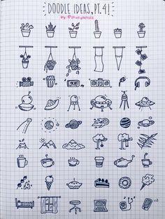 Part 4 of doodle ideas