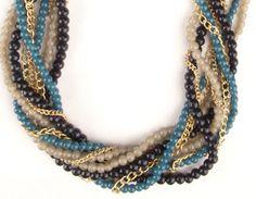 Multi-strand Beaded Beauty Necklace