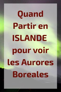Tout ce que vous devez savoir pour décider quand partir en Islande : conditions… All you need to know when deciding when to go to Iceland: road conditions, weather, aurora borealis, pros and cons for each month and much more – zigzagvoyages. Aurora Borealis, Travel Goals, Travel Tips, Travel Ideas, Daily Planner Printable, Voyage Europe, Destination Voyage, Iceland Travel, Europe Destinations