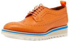 DSQUARED2 Men`s Shark Stampatino OX Oxford $483.75 (save $161.25) + Free Shipping