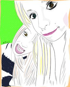 #ilustración #illustration #portrait #retrato #present #regalo
