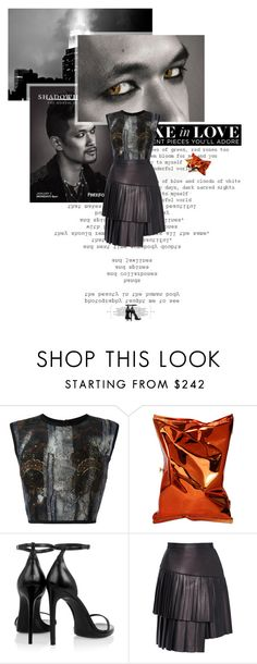 """""""Untitled 3791..."""" by thplacebo ❤ liked on Polyvore featuring Hussein Bazaza, Anya Hindmarch, Yves Saint Laurent, ADAM, Luigi Bormioli, Chanel, men's fashion and menswear"""