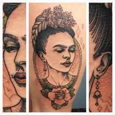 frida kahlo tattoo - Google Search