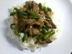 MaxterChef: Chinese Beef & Asparagus with Oyster Sauce