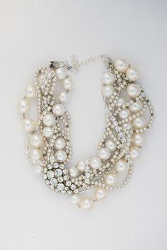 Fashion Friday: Statement Necklaces We  - Project Wedding Blog