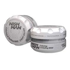 NISH MAN C1 – Ceara de par colorata – Argintiu – 150 ml Shake, The 100, Aqua, Design, Fragrance, Smoothie, Water