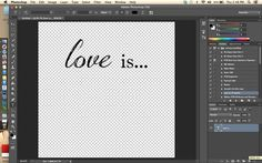 How to create a custom text brush in Photoshop CS via @Beckie Kengle at EverydayElements