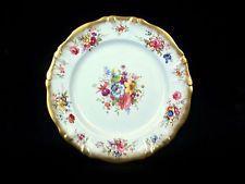 "Hammersley LADY PATRICIA 10 5/8"" Dinner Plate  Bone China ENGLAND"