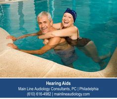 http://mainlineaudiology.com – Don't give up swimming or any other activities you enjoy. With extended wear hearing aids available from Main Line Audiology Consultants, PC in Philadelphia, you can swim, shower, sweat and generally go about living your life without worrying about your hearing aid.