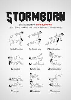 Stormborn Workout