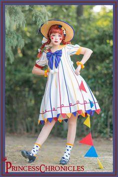 Clown Clothes, Kawaii Clothes, Harajuku Fashion, Lolita Fashion, Es Der Clown, Cute Clown, Cool Outfits, Fashion Outfits, Oui Oui